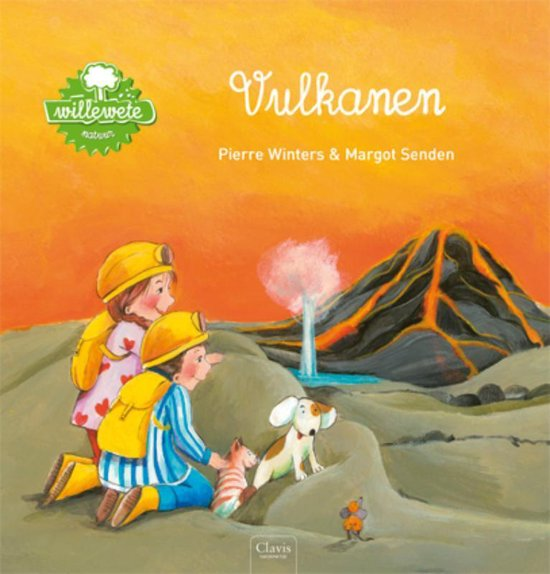 Boek cover Willewete  -   Vulkanen van Pierre Winters (Hardcover)