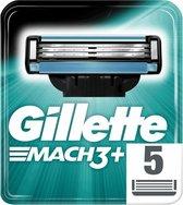 Gillette Mach 3 Scheermesjes 5 stuks