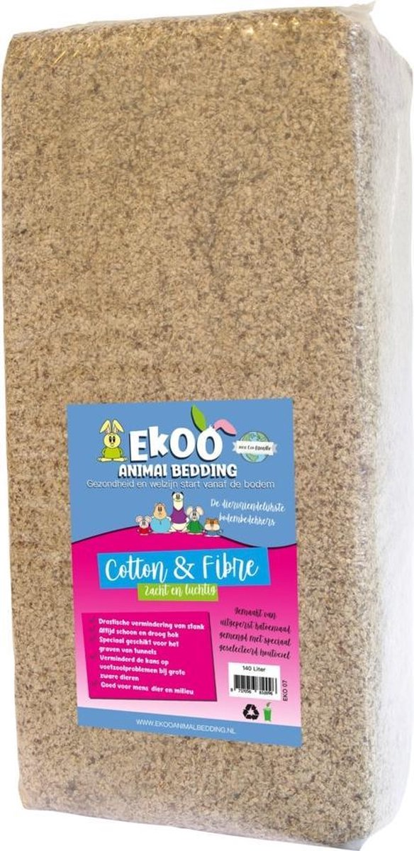 Ekoo Bedding Cotton N Fibre Inhoud - 140 Liter
