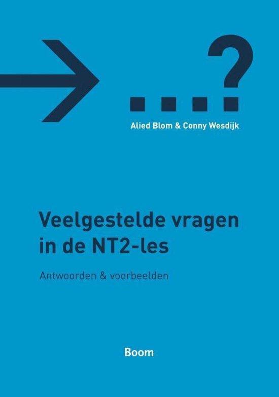 Boek cover Veelgestelde Vragen In De Nt2-Les van A. Blom