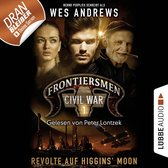 Omslag Frontiersmen, Folge 1: Revolte auf Higgins' Moon (Ungekürzt)