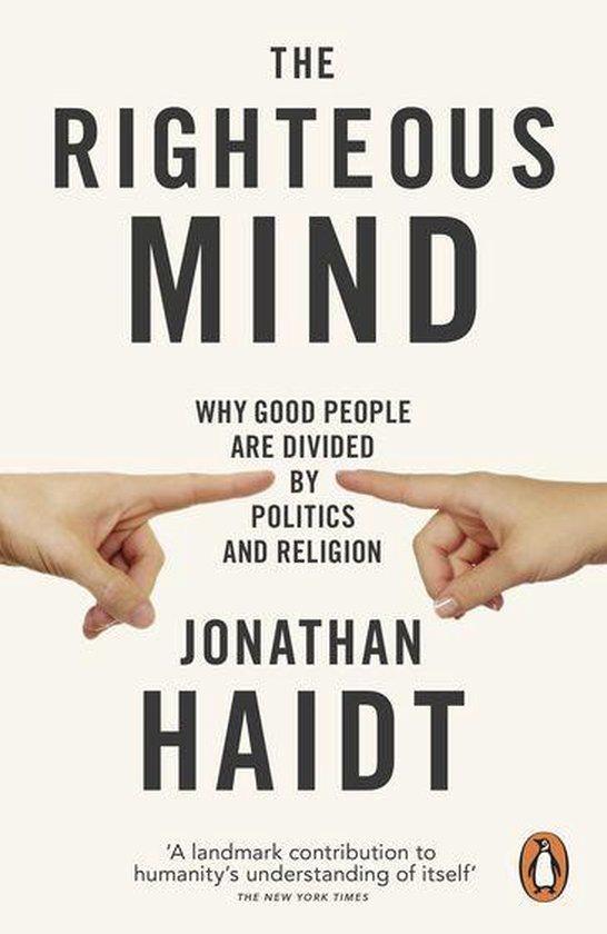 Boek cover The Righteous Mind van Jonathan Haidt (Onbekend)