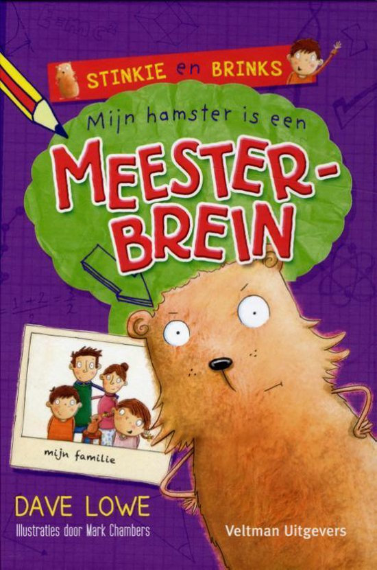 Boek cover Mijn hamster is een meesterbrein van Dave Lowe (Hardcover)