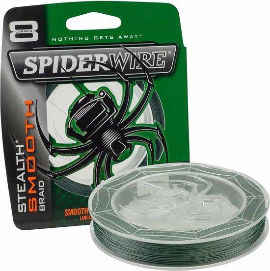 Spiderwire Stealth Smooth 8 - Moss Green - 5.4kg - 0.05mm - 300m - Groen