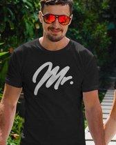 Mr & Mrs T-Shirt Premium (Mr - Maat XL)