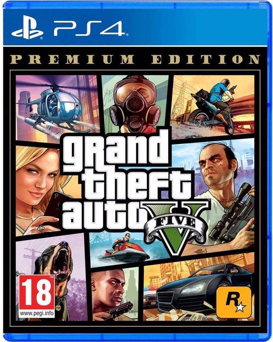 GTA 5 - Premium Edition - PS4