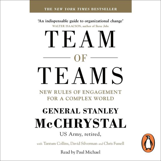 Boek cover Team of Teams van General Stanley McChrystal (Onbekend)