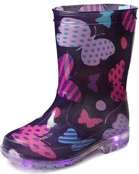 Gevavi Boots Mila PVC Paars Regenlaarzen Kids
