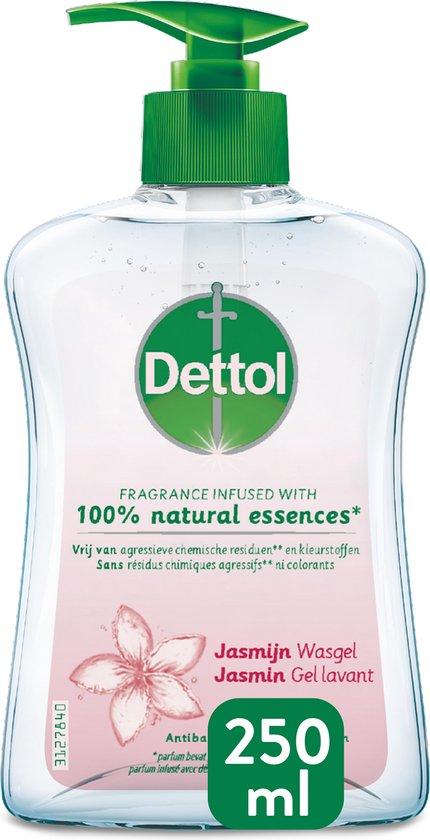 Dettol Handzeep - Jasmijn - Jasmijn geur verrijkt met 100% natuurlijke oliën - 250ML x4