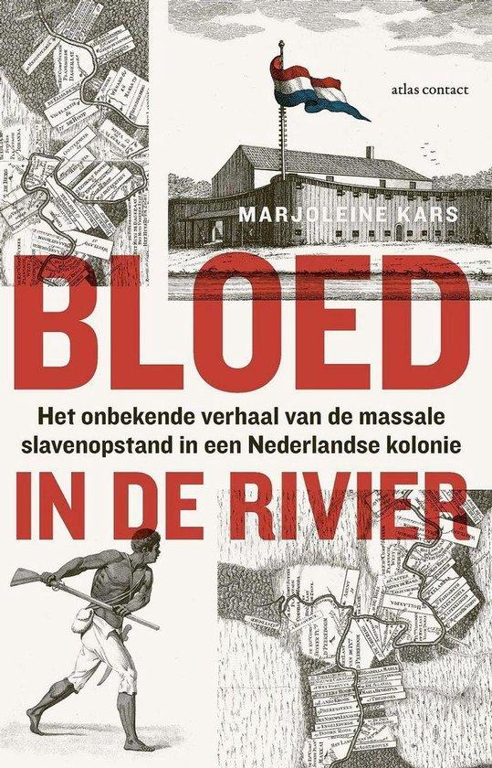 Boek cover Bloed in de rivier van Marjoleine Kars (Onbekend)