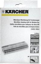Kärcher Microvezel Vervangdoek Window Vac WV1 - 2 stuks