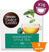 Dolce Gusto - Marrakesh Style Tea - 3x 16 cups
