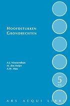 Boek cover Ars Aequi Handboeken  -   Hoofdstukken grondrechten van Aernout Nieuwenhuis (Hardcover)