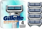 Gillette SkinGuard Sensitive Scheermesjes - 4 Navulmesjes