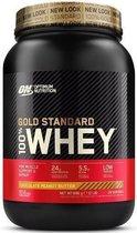 Optimum Nutrition Gold Standard 100% Whey Protein - Eiwitpoeder  - Eiwitshake / Proteine Shake -  Chocolade Pindakaas Smaak - 908 gram (30 shakes) - 1 Pot