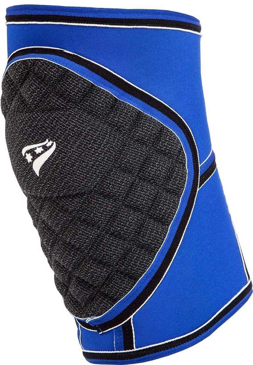 Rucanor Kniebandage Protecto Blauw/zwart Maat M