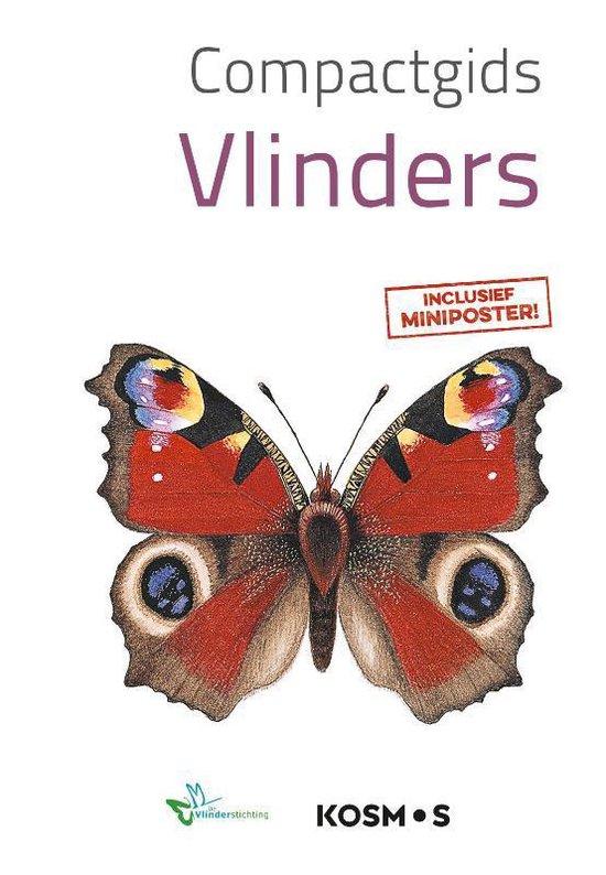 Boek cover Compactgidsen natuur  -   Vlinders van Redactie (Paperback)