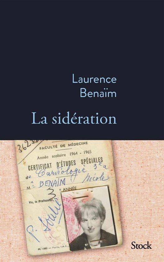 Boek cover La sidération van Laurence Benaim (Onbekend)