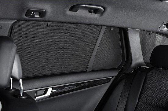 Privacy shades Jeep Renegade 5 deurs 2015- (alleen achterportieren 2-delig) autozonwering