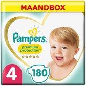 Pampers Premium Protection - Maat 4 - Maandbox - 180 luiers