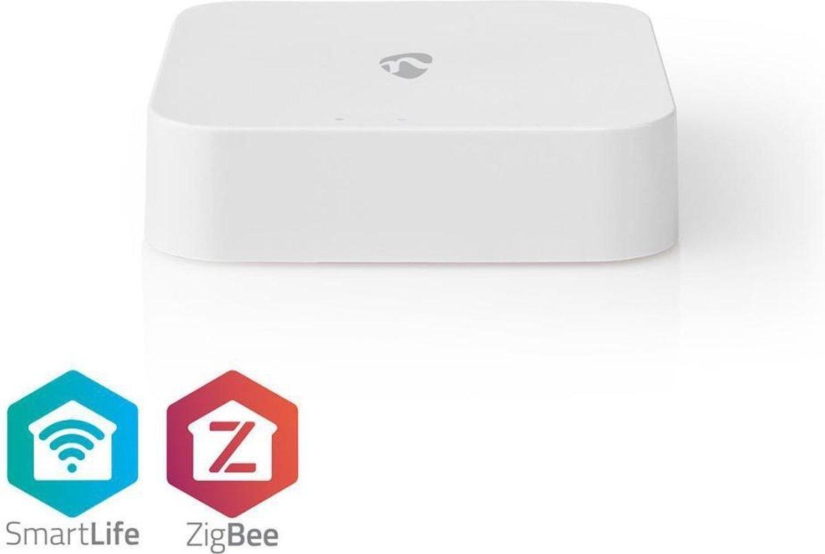Nedis WIFIZB10WT Smart Zigbee Gateway Wi-fi Usb Powered