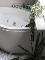 Beliani MEVES - Whirlpool - Wit - Sanitair-acryl