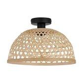 EGLO Claverdon Plafondlamp - 1 lichts - Ø37 cm - E27 - Zwart