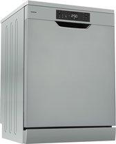 Inventum VVW6030AS - Vrijstaande vaatwasser - zilver