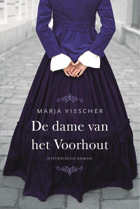 Boek cover De dame van het Voorhout van Marja Visscher (Onbekend)