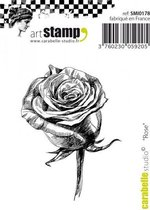 Carabelle cling stamp mini rose