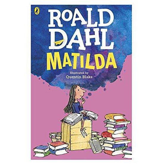 Boek cover Matilda van Roald Dahl (Paperback)