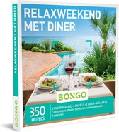 Bongo Bon Nederland - Relaxweekend met Diner Cadeaubon - Cadeaukaart cadeau voor vrouw | 350 hotels met wellnessfaciliteiten