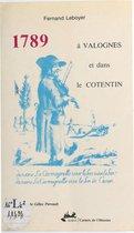 1789 à Valognes et dans le Cotentin