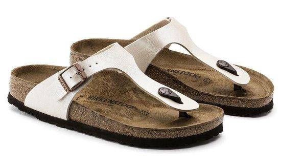 Birkenstock Gizeh slippers wit - Maat 43 SHktAJ9W