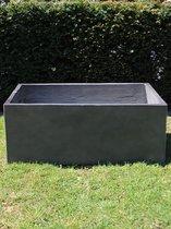 Moestuinbak / grote plantenbak / grote bloembak / XL plantenbak light cement, betonlook, grijs, 60L*40B*28H cm