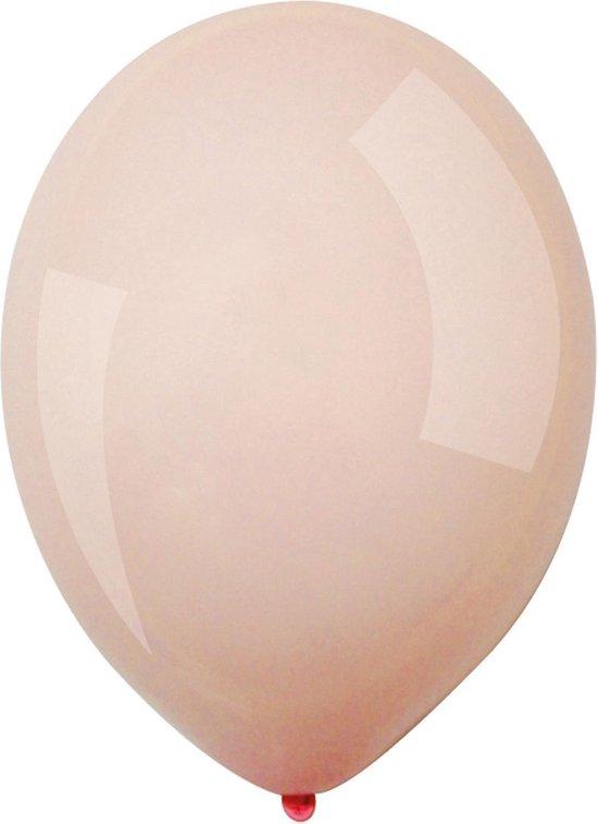 Amscan Ballonnen Macaron 13 Cm Latex Rosé Roze 100 Stuks