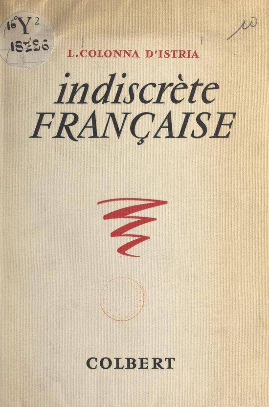 Indiscrète Française