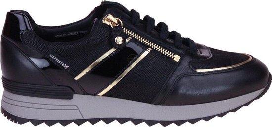 Mephisto Toscana Zwarte Sneaker