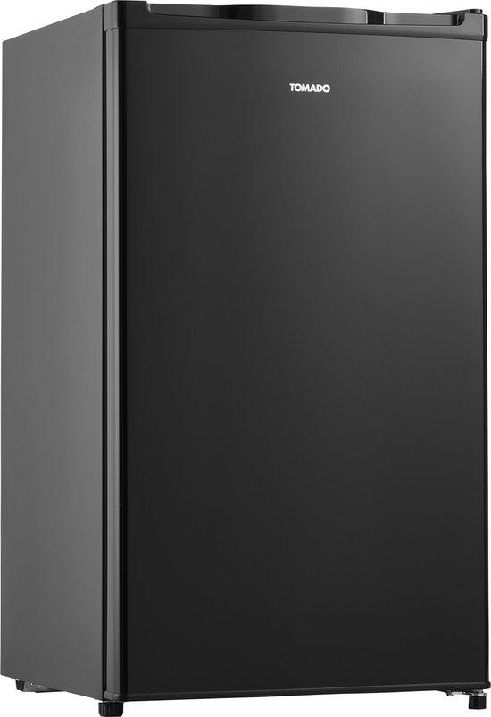 Tafelmodel koelkast: Tomado TLT4801B - Tafelmodel koelkast - 91 liter - 3 draagplateaus - Zwart, van het merk Tomado