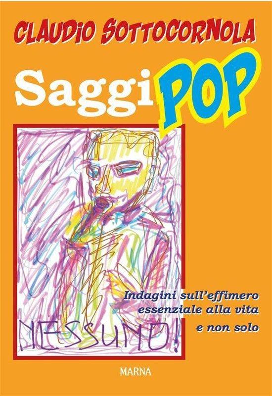 Boek cover Saggi pop van Claudio Sottocornola (Onbekend)