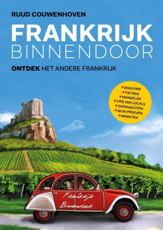 Boek cover Frankrijk Binnendoor van Ruud Couwenhoven (Hardcover)