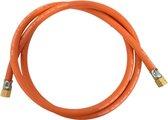 HASM gasslang, 3/8L-3/8L draaibaar, le 2m, diam 15mm, slang rubber