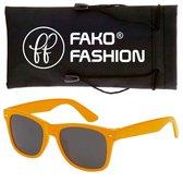 Fako Fashion® - Zonnebril - Wayfarer - Classic - Oranje