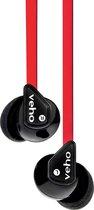 Veho Z1 Hoofdtelefoons In-ear Zwart, Rood