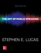 Boek cover The Art of Public Speaking van Stephen Lucas