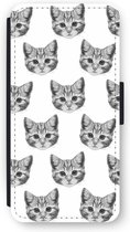 iPhone 6/6S Plus Flip Hoesje - Kitten