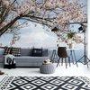Fotobehang Cherry Blossom Tree | V4 - 254cm x 184cm | 130gr/m2 Vlies