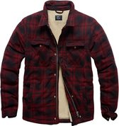 Vintage Industries Class Jacket sherpa lined red