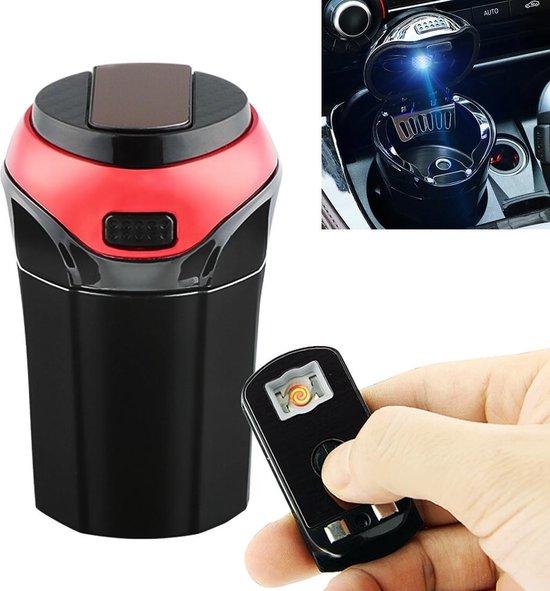 Bol Com 2 In 1 Universele Auto Afneembare Elektronische Aansteker Prullenbak Vuilnisbak