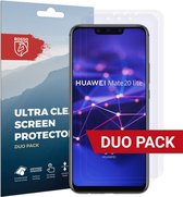 Rosso Huawei Mate 20 Lite Ultra Clear Screen Protector Duo Pack